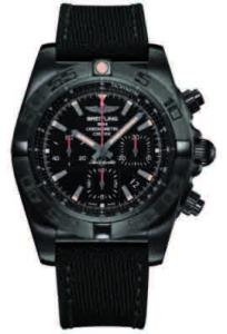 Relojes Breitling se visten de negro