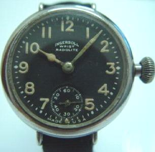 deb2f8bfa I own an Ingersoll radiolite similar to the one below, and found it has  radium painted hands/dial.